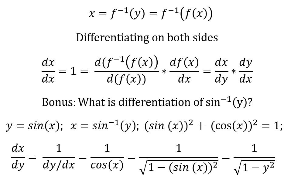 Inverse equations