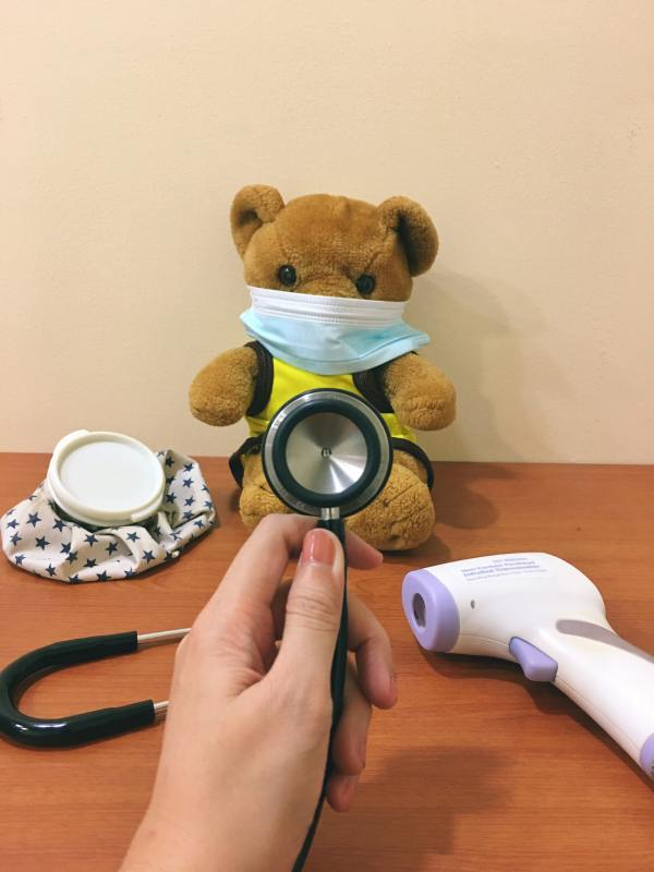 Baby check up for Covid
