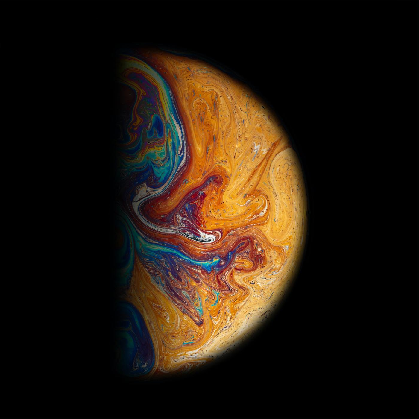 Painting of the planet