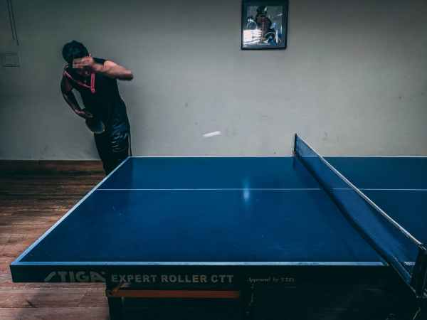 Table tennis relates to mind control